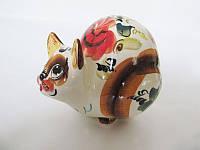 Кот Матильда цветной (Гжель)