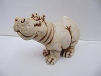 Бегемот (Статуэтки Мраморная крошка)