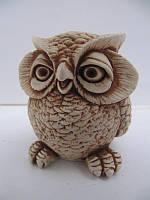Сова (Статуэтки Мраморная крошка)