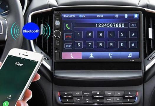"""Магнитола 2 дин Pioneer7010B автомагнитола с Экраном 7"""" дюймов сенсор + USB, SD, FM, Bluetooth+КАМЕРА!"""