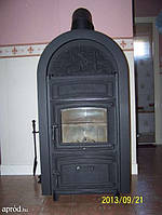 Печь на дровах WAMSLER Этна 13 кВт