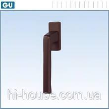 Ручка оконная Dirigent, темно-коричневый (RAL 8022)