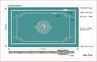 Интерьерная лепнина | Декор потолка. Розетка гипсовая