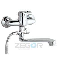 Смеситель для ванны эконом   Zegor NHK6-C, фото 1