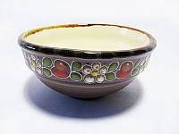 Пиала глиняная Вишня (С росписью Вишенка)