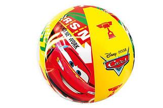 М'яч надувний пляжний Intex Тачки 61см (58053)