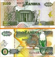 Зaмбия / Zambia 20 Kwacha 1992  UNC