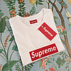 Футболка женская Supreme Box Logo • Люкс реплика, фото 2
