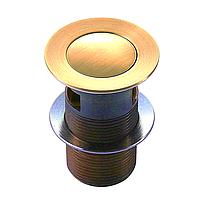 Донный клапан IMPRESE Pop-up, золото PP280 zlato