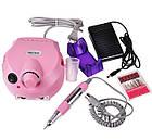 DM-202 фрезер для маникюра и педикюра 30W/30000 об/мин. Розовый , фото 2