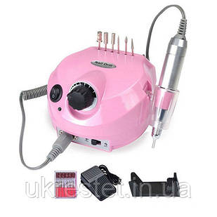 DM-202 фрезер для маникюра и педикюра 30W/30000 об/мин. Розовый