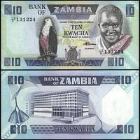 Зaмбия / Zambia 10 Kwacha (1989) UNC