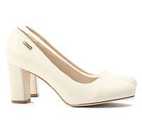 Бежевые женские свадебные туфли NSH-166877 40,39,38,37,36