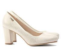 Бежевые женские свадебные туфли NSD-166878 37,40,39,38,36