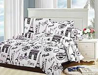 Комплект полуторного  постельного белья ТЕП Париж