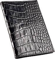 Кожаная обложка для паспорта ISSA HARA PC (21-00) черное