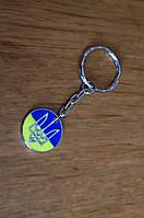 """Сувенир для ключей """"Герб и флаг Украины"""" брелок с символикой Украины"""