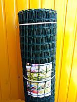 Забор садовый.Ячейка 50х50 мм, рул. 1м х 20 м.(Пластиковый).