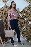 Блузка женская Инга цветочный принт, фото 1