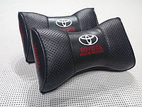 Подушка на подголовник Toyota Avensis темно-серая