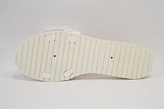 Жіночі білі капці Sopra 41 р 25,5 см, фото 3