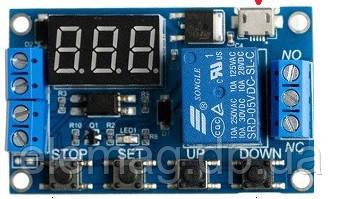 Циклический таймер, реле задержки времени, USB Программируемый
