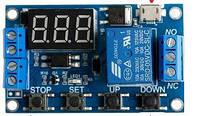 Циклический таймер, реле задержки времени, USB Программируемый, фото 1