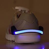 Светодиодный браслет на обувь, синий