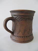 Чашка чайная Узор СК (Станиславcкая глиняная посуда)