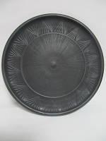 Тарелка большая 24 см. Гаварецкая керамика (Гаварецкая глиняная посуда)