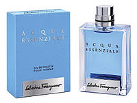 (ОАЭ) Salvatore Ferragamo / Сальваторе Феррагамо - Acqua Essenziale pour homme (100мл.)  Мужские