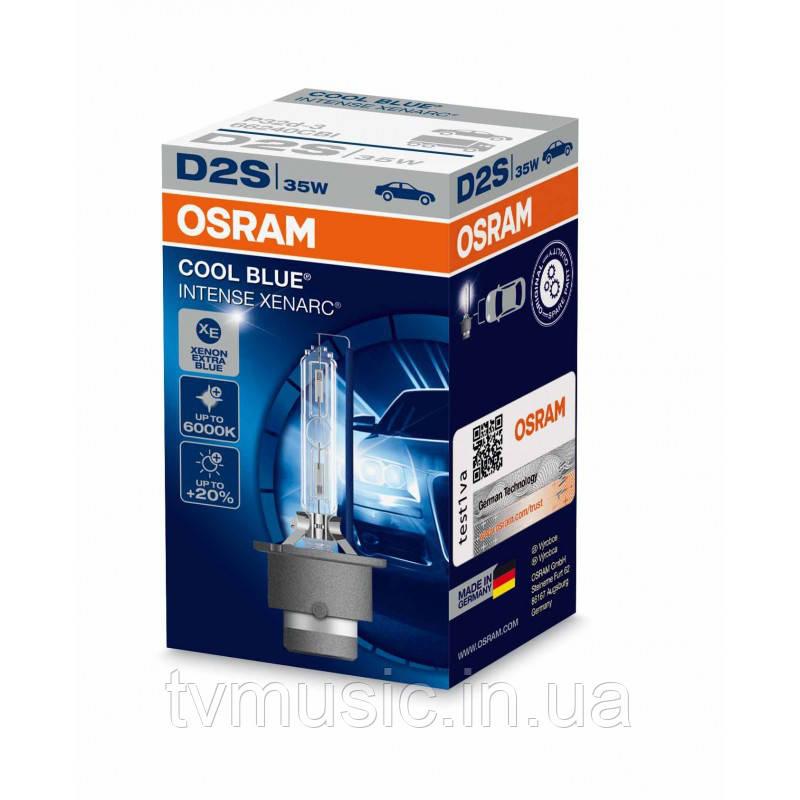 Ксеноновая лампа Osram Xenarc Cool Blue Intense D2S 35W (66240CBI)