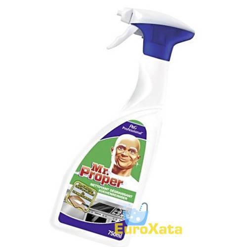 Средство для удаления жира и дезинфекции Mr. Proper PROFESSIONAL Spray 750 ml