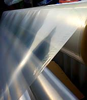 Пленка парниковая на метраж, 200 мкм, 3м ширина, белая (прозрачная)., фото 1