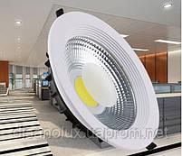 Светодиодный светильник Downlight LED COB DLQ2030R 30w 4100K 220v, фото 3