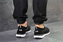 Мужские кроссовки Nike,летние,сетка,черно-белые 44, фото 3