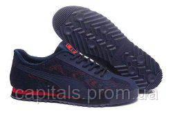Мужские кроссовки  Puma Dark Blue/Red