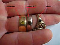 Хлорный пробник на золото от 375-й до 585-й пробы 2 мл.