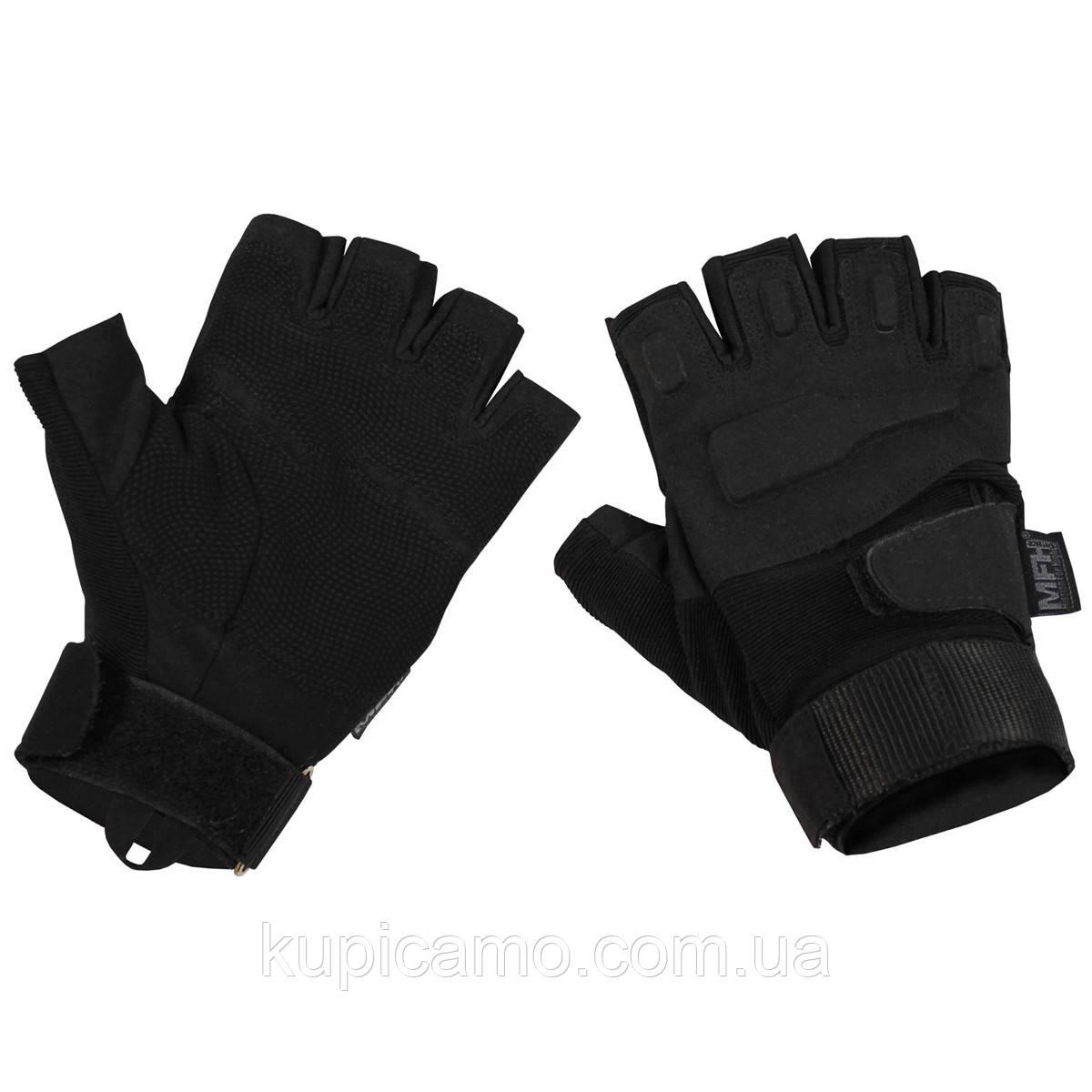 """Перчатки тактически MFH """"Protect"""" без пальцев (Германия)"""