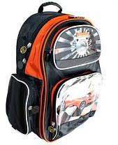 Рюкзак ортопедичний S, Dr.Kong Z148U, чорно-оранжевий