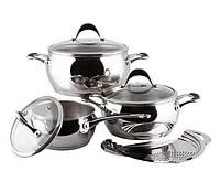 Набор посуды (Набор кастрюль) 7 предметов VINZER 89038 ASTRO