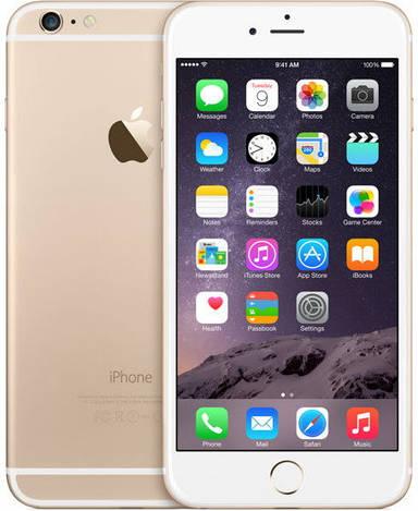 Apple iPhone 6 Plus 64GB, Gold Refurbished