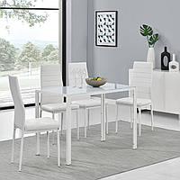 Набор кухонной мебели стол +4 стулья, фото 1