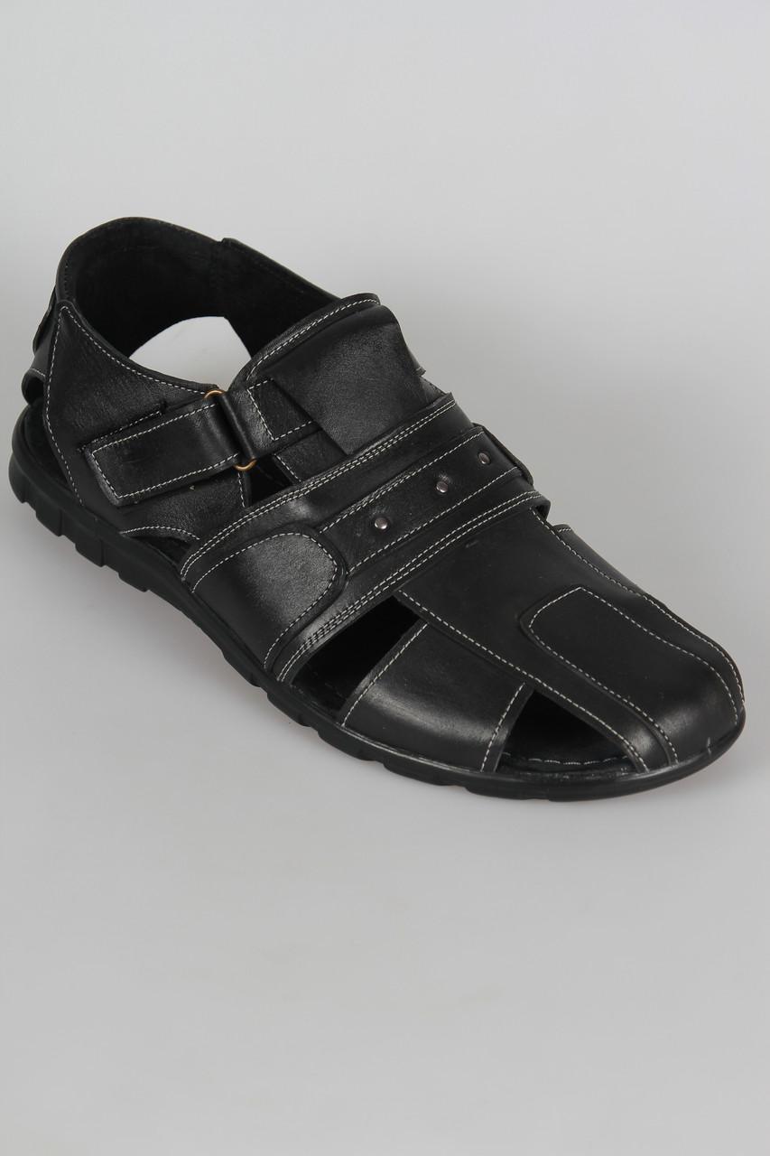 Летние кожаные сандали