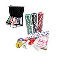 Покерный набор Покер 200 (GC11200) метал.кейс (карты + фишки)