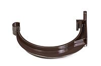 Держатель желоба коричневый ПВХ FITT (Фитт)