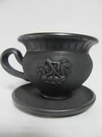 Чашка чайная Калина Гаварецкая керамика (Гаварецкая глиняная посуда)