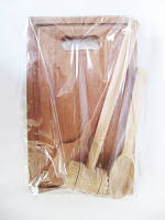 Столовый набор с доской (Разделочные доски из дерева )