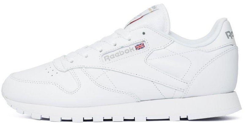 "Мужские кроссовки Reebok Classic ""White"" (Рибок Классик) белые"