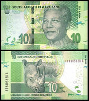 Южная Африка (ЮАР) / South Africa 10 rand 2014 UNC